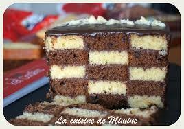 ma participation au concours ker cadélac gâteau damier facile et