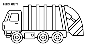 100 Coloring Pages Of Trucks Page Truck 19 41094