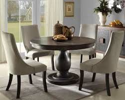 stylish round table and chair set round kitchen table and chairs