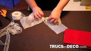 ruban pour noeud de chaise comment faire un noeud en ruban ou tissu tutoriel par