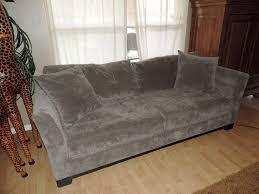 Macys Elliot Sofa Sectional by Macy U0027s Elliot Graphite Microfiber Sleeper Sofa Bed