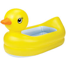Inflatable Bathtub For Babies by Munchkin White Inflatable Safety Duck Tub Toys R Us