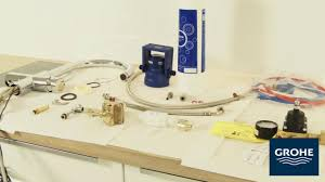 Grohe Concetto Kitchen Faucet Manual by Grohe Grohe Blue Installation Installation Videos Services