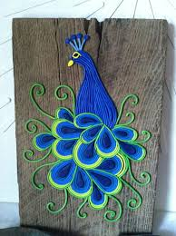 Peacock Wall Art Essence Of Elegance Polymer By HipEarthDesigns 12500 DIY With Paper Or