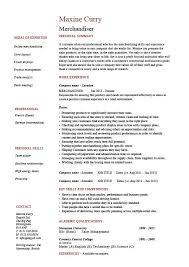 Merchandiser Resume Example Sample Visual Marketing Looking For