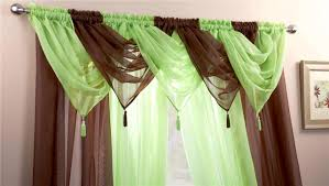 Ebay Curtains With Pelmets Ready Made by Silver U0026 White Voile Swags U0026 Curtain Panels 9 Peice Set 54