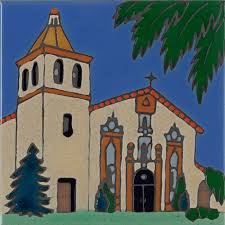 california missions all products pacific blue tile original