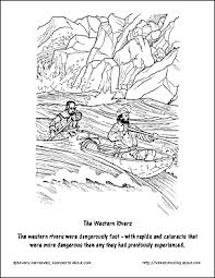 Lewis And Clark Coloring Page