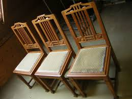 6 alte stühle eiche massiv esszimmer stühle guter zustand