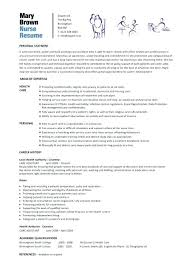 Examples Of Nursing Resume Nurses Format Nurse Objective Statements
