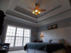 Tray Ceiling Paint Ideas by Double Tray Ceiling Add Crown Moulding To Really Make It Pop