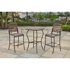 3 Piece Bar Height Patio Bistro Set by 53 Best Bar Height Patio Furniture Images On Pinterest Patios