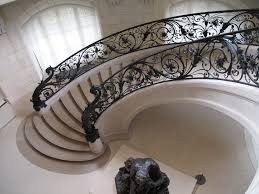 Decorative Wrought Iron Stair Railings — John Robinson House Decor ... Wrought Iron Stair Railing Idea John Robinson House Decor Exterior Handrail Including Light Blue Wood Siding Ornamental Wrought Iron Railings Designs Beautifying With Interior That Revive The Railings Process And Design Best 25 Stairs Ideas On Pinterest Gates Stair Railing Spindles Oil Rubbed Balusters Restained Post Handrail Photos Freestanding Spindles Installing