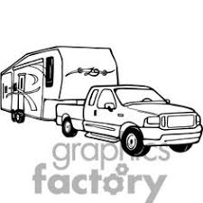 Rv Black And White Clipart