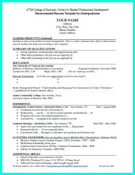 Job Resume Examples For College Students Fresh Current Student Is Designed Graduate