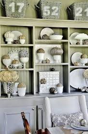 How To Decorate A Hutch In The Living Room Dining Decorating Ideas On Primitive Colors