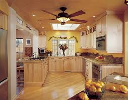 ceiling fan for kitchen with lights for home decorating