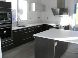 plan travail cuisine quartz quelques exemples de plan de travail de cuisine en quartz