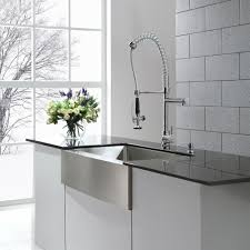 Commercial Pre Rinse Chrome Kitchen Faucet by Kraus Kpf 1602 Premium Kitchen Faucet Chrome Pro Pre Rinse Units