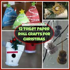 12 Toilet Paper Roll Crafts For Christmas