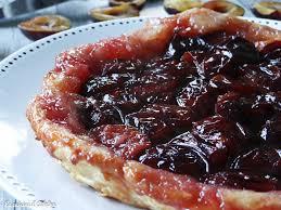 dessert aux quetsches recette tarte tatin aux quetsches prunes d alsace la cuisine d adeline