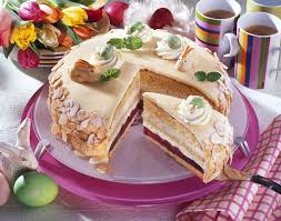 lübecker kirsch marzipan torte
