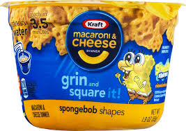 Spongebob Halloween Dvd Walmart by Kraft Dinners Spongebob Squarepants Macaroni U0026 Cheese Dinner 1 9