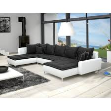canapé d angle u canap d angle blanc et noir awesome groupon goods global gmbh canap