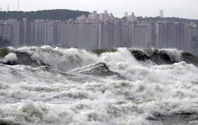 100 South Korean Houses Typhoon Leaves Thousands Of Homes Without