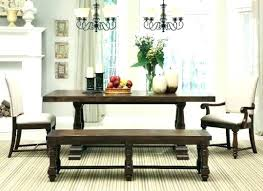 Country Style Dining Table With Bench Room Sets Medium