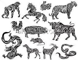 Elegant Chinese Zodiac Tattoo Designs 41 For Your Simple Men With