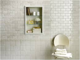 interior cool bathroom design with self adhesive wall tiles and