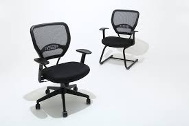 Office Star Chairs Amazon by Amazon Com Space Seating Airgrid Dark Back And Black Mesh Seat 2