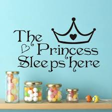 Chic DIY Wall Sticker Princess Decal Home Paper Art Decor Children Bedroom Decoration