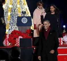 Aspirin For Christmas Tree Life by Barack Obama Michelle Sasha And Malia Attend National Christmas