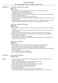 Download Janitorial Manager Resume Sample As Image File
