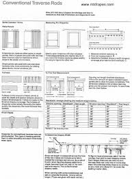 Traverse Rod Curtain Panels by Traverse Curtain Rods Kirsch Superfine Adjustable Sizes