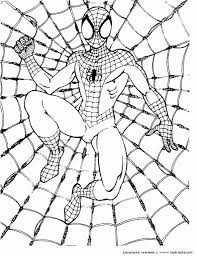 Spiderman Coloring Pages Pdf Az For Printable To Motivate In