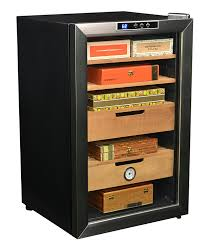 cigar cabinet humidor australia newair cc 300 400 count cigar cooler appliances