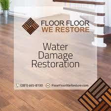 floor floor we restore water damage floor restauration restore