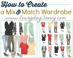 Free DIY Mini Capsule Wardrobe Guide