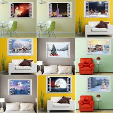 DIY 3D Roman Numbers Watch Wall Clock Home Decor Mirror Wall Sticker 4 Colors