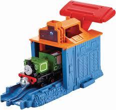 Thomas The Train Tidmouth Sheds Playset by Amazon Com Fisher Price Thomas U0026 Friends Take N Play Speedy