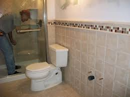 bathroom with shower and toilet design feature royale honed marble