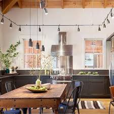 kitchen track lighting design ideas
