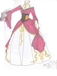 Colored In Victorian Dress By Gildamesh