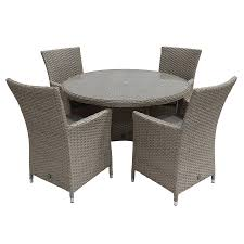 Supremo Valletta Rattan Round Garden Dining Table And 4 Chairs Kitsch Round Glass Table Set Of 4 Chairs Dfs Ireland Mcombo Mcombo Ding Side 4ding Clear Ingatorp And Chairs White Ikea Cally Modern Table With La Sierra Fniture Grindleburg 60 Woodstock Carisbrooke Barker Stonehouse Dayton 48 Upholstered Shop Hlpf5cap 5 Pc Small Kitchen Setding Hanover Traditions 5piece In Tan A Jofran Simplicity Chair Slat Back Pier 1 W Aptdeco Rovicon Lulworth Pedestal