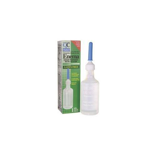 Quality Choice Enema Rectal Solution Liquid - 4.5oz