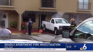 100 Man Found Dead In Truck After Setting Hialeah Apartment On Fire Cops NBC 6