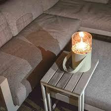 gaslaterne weiß ø16x30cm deko laterne beleuchtung le dekobeleuchtung wohnen